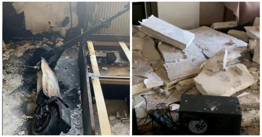 Взрыв электросамоката разнес квартиру в Перми