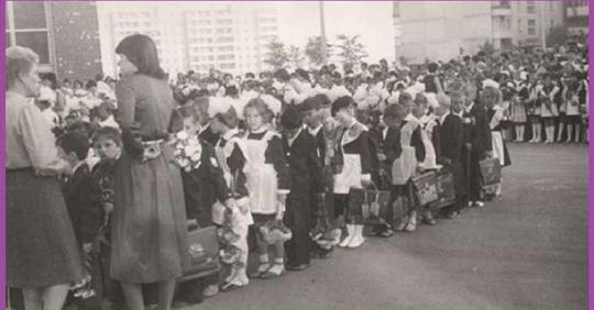 Я пошла в 1 класс в 1965 году. Расскажу вам все, что я помню о своих школьных годах, без приукрашивания