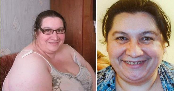 Обычная женщина похудела на 130 кг, ошарашив Сеть своим преображением
