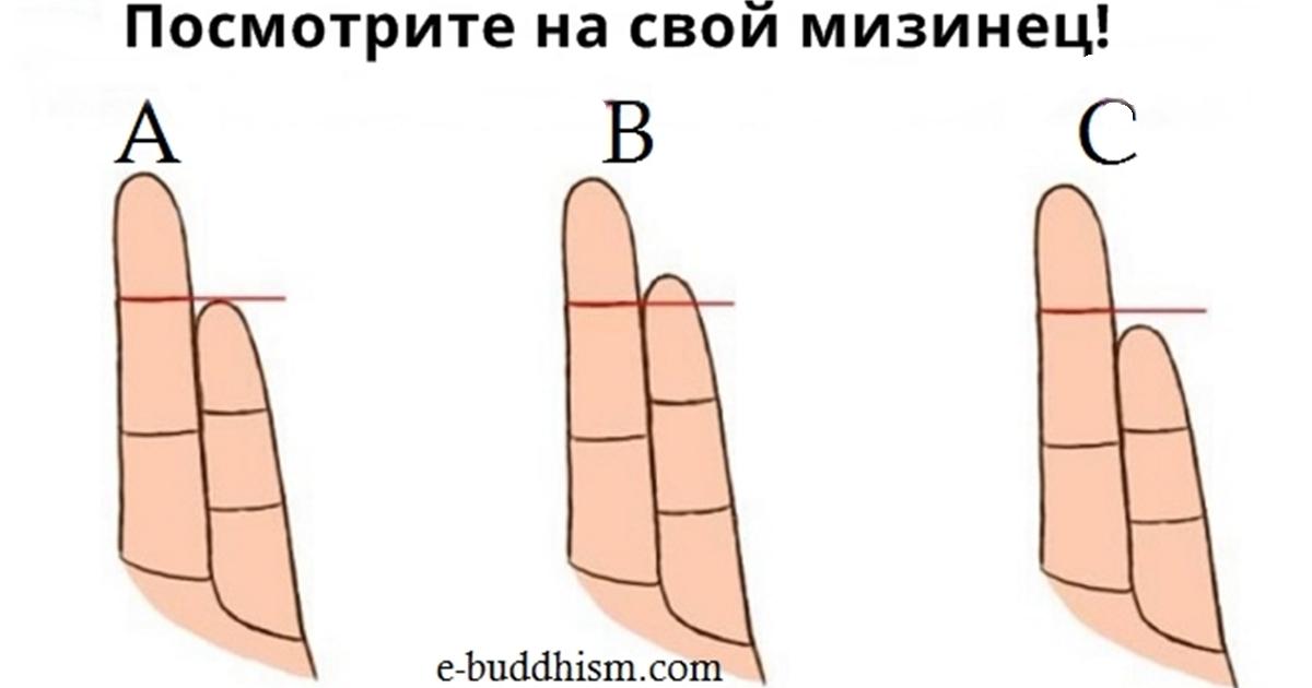 Вот как длина ваших пальцев влияет на ваш характер! С ума сойти!