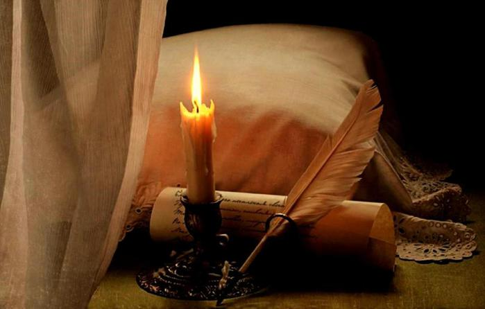 Борис Пастернак: Свеча горела на столе